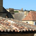 Collection of roofs in Sarlat.