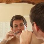 Pre shave trim