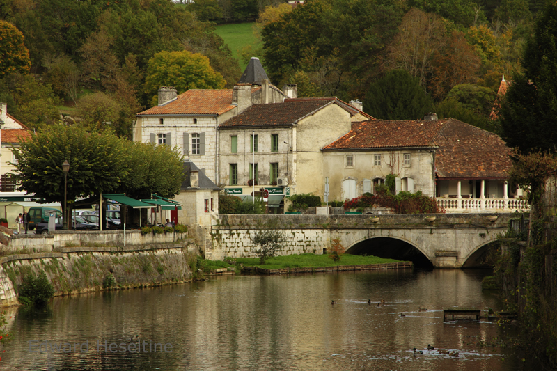 The Dronne at Brantome.